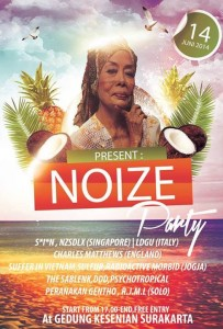Noize Party flyer